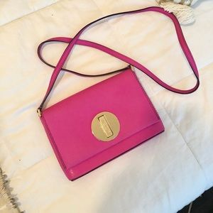 HOT Pink Kate Spade Clutch Crossbody